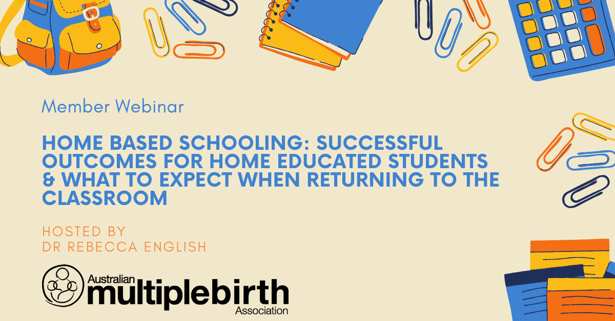 Successful outcomes for home education webinar image