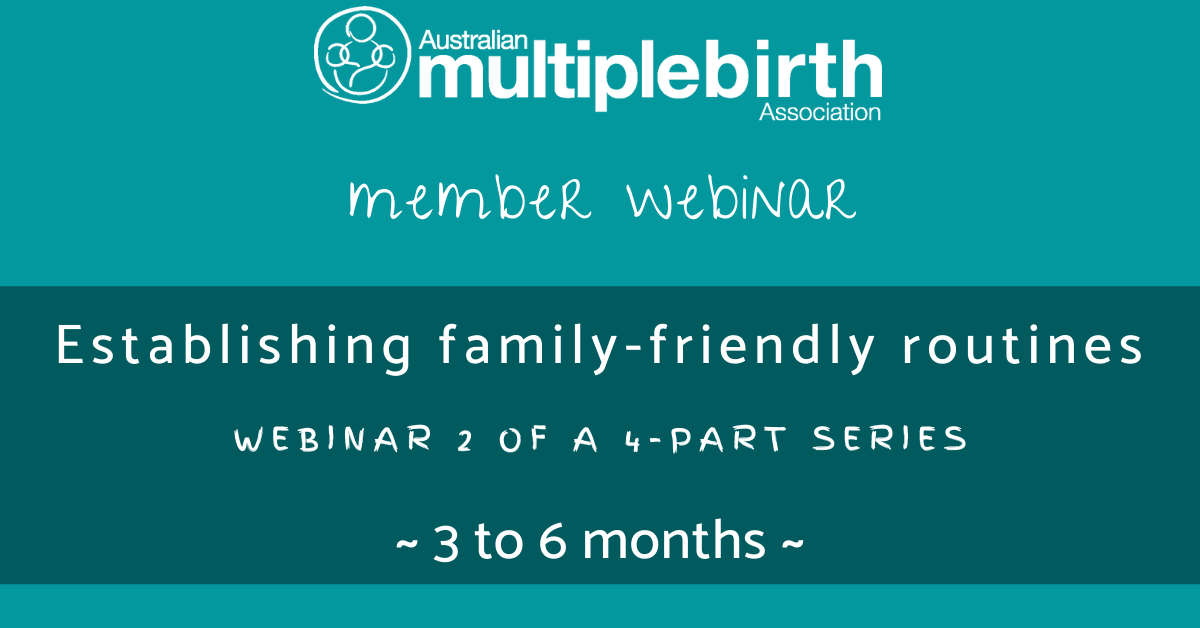 The realities of parenting: 3 - 6 months webinar image